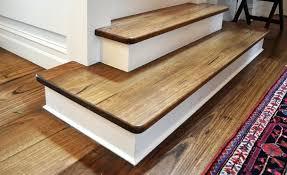 Vinyl Plank On Stairs Floating Floor Stair Nosing Home Depot