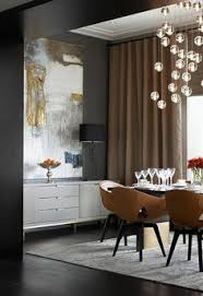Grey Walls Large Scale Art Drapes And Great Lighting