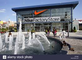 Nike Factory by Nike Factory Atlantic City New Jersey Usa Stock Photo