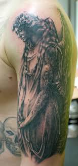 Angel Tattoo Shoulder 6