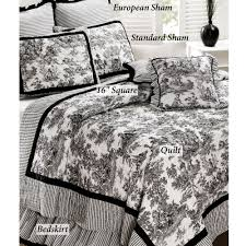 Domestications Curtains And Blinds by Toile De Jouy Cotton Quilt Bedding