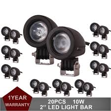 Fog Lights For Trucks 10w Round Led Work Light Offroad Car Auto ... Poppap 300w Light Bar For Cars Trucks Boat Jeep Off Road Lights Automotive Lighting Headlights Tail Leds Bulbs Caridcom Lll203flush 3 Inch Flush Mount 20 Watt Lifetime 4pcs Led Pods Flood 5 24w 2400lm Fog Work 4x 27w Cree For Truck Offroad Tractor Wiring In Dodge Diesel Resource Forums Best Wrangler All Your Outdoor 145 55w 5400 Lumens Super Bright Nilight 2pcs 18w Led Yitamotor 42 400w Curved Spot Combo Offroad Ford Ranger