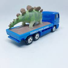 Takara Tomy Tomica | 26 Dinosaur Truck | Tomica Event Model – Tomica ... Matchbox On A Mission Dino Trapper Trailer Dinosaur Toys For Kids Yeesn Transport Carrier Truck Toy With 6 Mini Plastic Amazoncom Nickelodeon Blaze And The Monster Machines Party Favors Big Boots Adventure Squad Vehicle Funny Digger 3 Games Fun Driving Care Car For Kids By Yateland Buy Tablets Online Transporter Walmartcom Fisherprice Imaginext Jurassic World Hauler Target Dinosaurs Trucks Collide In Dreamworks New Netflix Kid Series