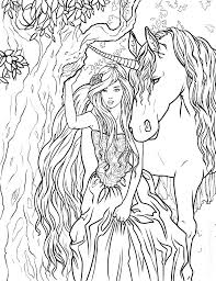 Free Unicorn Coloring Pages Real Unicorns Fairy Also Printable