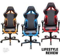 Dxracer Gaming Chair Cheap by Dxracer Oh Rv131 Nb High Back Gaming Chair Carbon Look Vinyl Pu