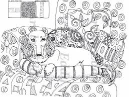 Art Of Dachshund Coloring Book Volume No2 By ArtByEddy On Etsy