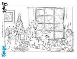Barbies Christmas Story Coloring Pages