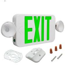 fulham fhec30 wg micro 2 emergency light with led exit sign
