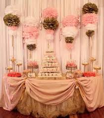 Pink White And Gold Birthday Decorations by 20 Best Pink And Gold Party Images On Pinterest Gold Party Pink