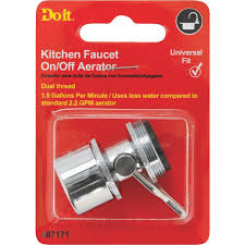 Portable Dishwasher Faucet Adapter Aerator by Do It Faucet Aerator With On Off Switch 487171 Do It Best