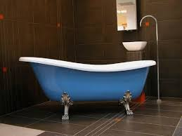 freistehende luxus badewanne jugendstil roma hellblau weiß chrome 1470mm barock antik badezimmer