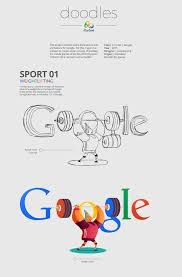 Google Doodles For Olympic Games In Rio 2016 The Graphic Cave