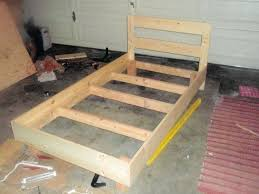 bed frame plans for bed frame plans for twin bed frame with