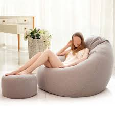Amazon.com: Ddl Classic Cord Bean Bag Chair - Giant Luxury ...