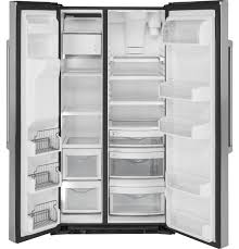 Counter Depth Refrigerator Width 30 by Ge Café Series 21 9 Cu Ft Counter Depth Side By Side