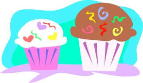 0511 0906 0800 3318 Party Cupcakes clipart image
