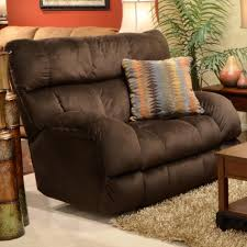 lay flat recliner with extra wide seat by catnapper wolf and