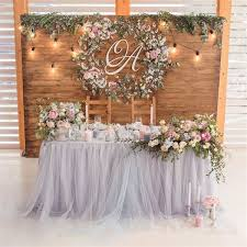 Rustic Weddings 30 Unique And Breathtaking Wedding Backdrop Ideas More