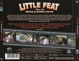 Little Feat Fat Man In The Bathtub by Cd Album Little Feat Live In Holland 1976 Eagle Europe