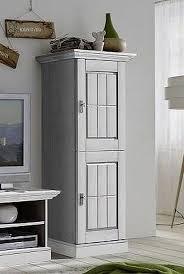 massivholz wohnzimmerschrank kiefer weiß lasiert highboard