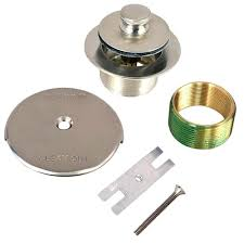 Bathtub Overflow Plate Adapter Bar by Watco 1 625 In Overall Diameter X 16 Threads X 1 25 In Lift And