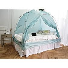 Amazon BESTEN Floorless Indoor Privacy Tent on Bed for Warm