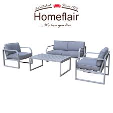 Homeflair Rattan Garden Furniture Alarna Aluminium Grey 2 Seater ... Shop Aleko Wicker Patio Rattan Outdoor Garden Fniture Set Of 3 Pcs 4pc Sofa Conservatory Sunnydaze Tramore 4piece Gray Best Rattan Garden Fniture And Where To Buy It The Telegraph Akando Outdoor Table Chair Hog Giantex Chat Seat Loveseat Table Chairs Costway 4 Pc Lawn Weston Modern Beige Upholstered Grey Lounge Chair Riverdale 2 Bistro With High Webetop Setoutdoor Milano 4pc Setting Coffee