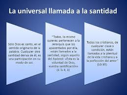Universal Llamada A La Santidad