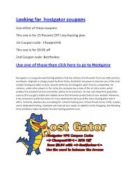 Calaméo - Hostgator Coupon Codes Saves People Cash On Your ... Hostgator Coupon October 2018 Up To 99 Off Web Hosting Hostgator Code 100 Guaranteed Deal 2019 Domain Coupons Hostgatoruponcodein Discount Wp Calamo Hostgator Coupon Build Your Band Website In 5 Minutes And For Less Than 20 New 75 Off Verified Sep Codes Shared Plan Comparison Deals 11 Best Coupon Code India Codes Saves People Cash On Your
