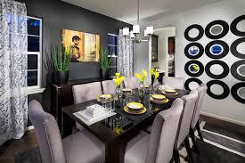 Vista Ridge Model Home Dining Room Contemporary