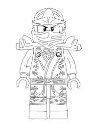 LEGO Ninjago Lloyd Coloring Pages Kids