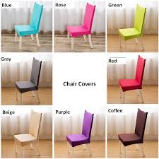 4 PCS Universal chair cover super elastic dinning chair cover