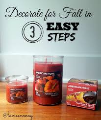 Yankee Candle Pumpkin Apple by Decorate For Fall In 3 Easy Steps La Vie En May Petite