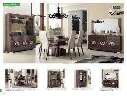 Dining Room Contemporary Chairs Beautiful Prestige Modern Formal Sets
