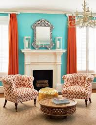 Tiffany Blue Living Room Decor by 19 Best Orange Accents Images On Pinterest Island Living Room