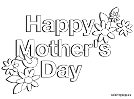 Surprising Happy Mothers Day Coloring Pages 65 For Your Line