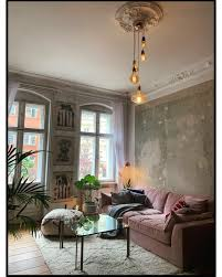 einrichtung wohnzimmer vintage modern caseconrad