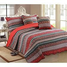 luofanfei indische tagesdecke boho bettüberwurf baumwolle 100 orientalisch überdecke steppdecke gesteppt quilt bett überwurf vintage patchwork muster