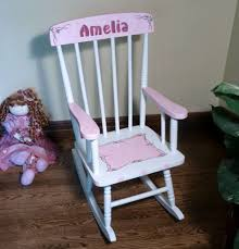 Wooden Kids Rocking Chair Personalized Cherry Finish Upholstered ... Kids Wooden Rocking Chair 20 Best Chairs For Toddlers Childs Hand Painted Personalized For Toddler Etsy Up Bowery How To Choose Rafael Home Biz Rocking Chair Childs Hand Painted Girls Odworking Projects Plans Milwaukee Brewers Cherry Finish Upholstered Fniture Cute Sullivbandbscom Baby Child