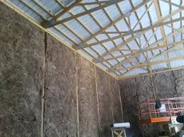 insulating pole barn question construction contractor talk