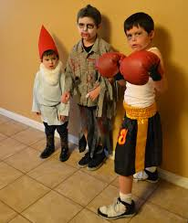 Gnome Zombie Boxer Homemade Halloween Costumes Vs Store Bought
