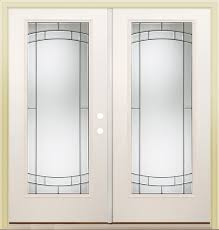 Single Patio Door Menards by 80 Steel Full Lite French Patio Door With Zinc Accent Left Inswing