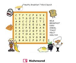 WordSearch What s your favorite breakfast food