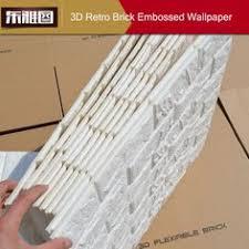20 Rollos 3D Efecto Piedra Pared Ladrillos Papel Pintado Vinilo Texturizado