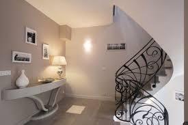 grand escalier interieur villa maison moderne