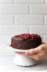 Small Chocolate Cake For Two Mini Made In A 6 Pan