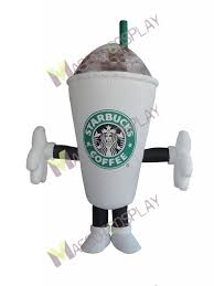 Starbucks Coffee Cup Mug Mascot Costume