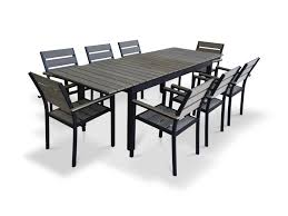 Urban Furnishings 9 Piece Extendable Outdoor Dining Set & Reviews ... Klaussner Outdoor Delray 7piece Ding Set Hudsons Breeze Ding Chair Alinum Frame Harbour Suncrown Brown Wicker Fniture 5piece Square Modern Patio To Enjoy Lovely Warm Summer Awesome Patio Quay Chair By King Living Est Living Design Directory Room Charming Image Of For Hampton Bay Belcourt Metal With Walmartcom Bilbao Five Piece Falster Ikea I Love The Looks Of This Outdoor Ding Set Table 10 Easy Pieces Chairs In Pastel Colors Gardenista
