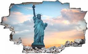 wandtattoo liberty freiheitsstatue usa amerika wohnzimmer