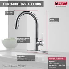 Walmartca Bathroom Faucets by 19 Delta Trinsic Bathroom Faucet Black Delta Faucet 4159
